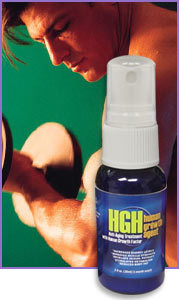 Human Growth Agent (HGH/HGF) Spray is a proprietary formulation that stimulates the pituitary gland to increase its release of Human Growth Hormone into the bloodstream.